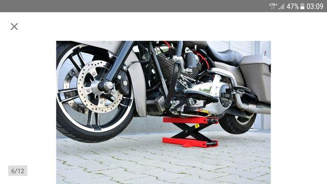Podnośnik motocyklowy trapezowy,winda,stojak 500kg