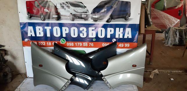 Крила Opel Vivaro, Renault Trafic 2001-2014рр.