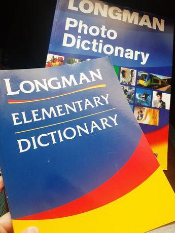 Longman Elementary Dictionary + Photo Dictionary + CD angielski