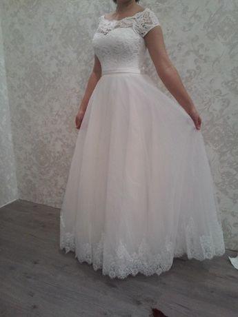 Свадебное платье новое срочно пышное платье белое свадебное платья
