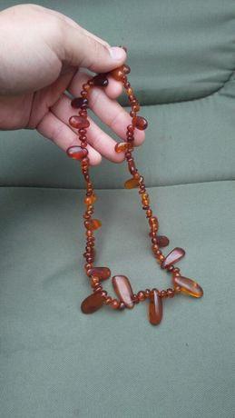 Продам намисто янтарные бусы правильной формы