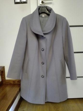 Płaszcz zimowy camelot r. 50 szary jak nowy