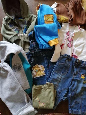 Вещи на мальчика от 6м., спорт. костюмы, джинсы, толстовка, комбинезон