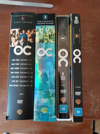 Série TV completa The O.C. 4 temporadas DVD