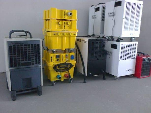 Wypożyczanie osuszaczy powietrza,klimatyzatorów,osuszanie izolacji