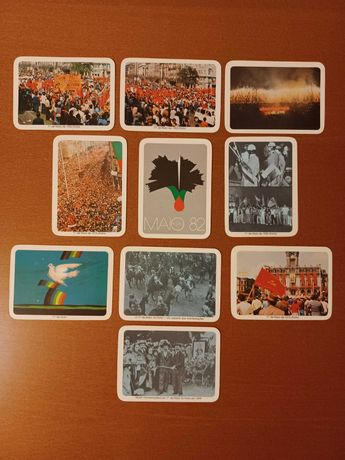 Colecção calendários PCP edição 1 Maio 1984