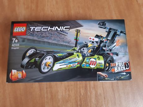 Nowe Lego Technic 42103 2w1