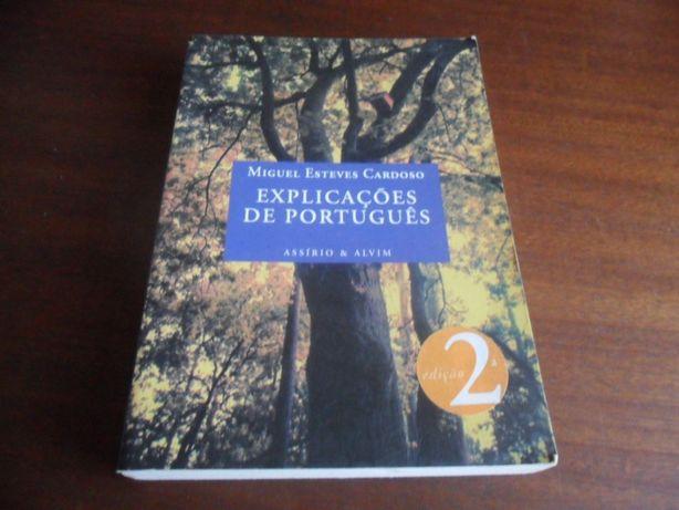 """""""Explicações de Português"""" de Miguel Esteves Cardoso"""