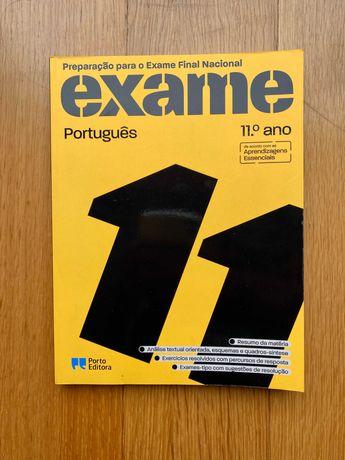 Livro Exame Português 11º ano