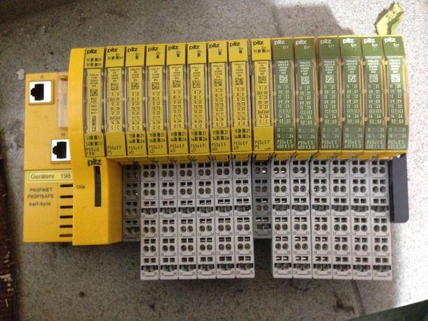 Pilz profinet pssu e S 4d0 модуль система profisafe