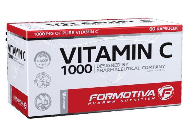 Formotiva Vitamin C 1000 Witamina C Odporność Zdrowie