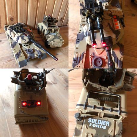 Детский военный танк Soldier и военная машина Soldier
