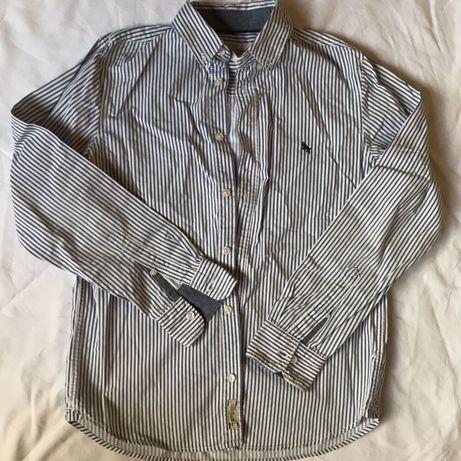 Красивая модная фирменная рубашка