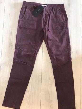 Zara Man Męskie Spodnie Materiałowe chinosy Nowe 32