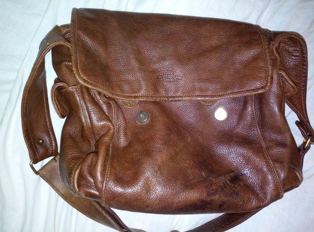 Продам кожаную мужскую сумку