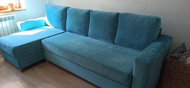 Narożnik rogówka sofa z funkcją spania, kanapa