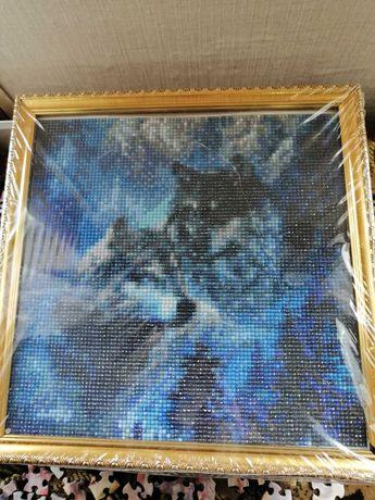 Картина из кристаллов.