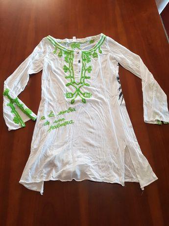 Vestido branco usado 1 vez