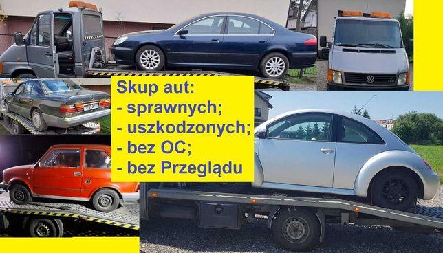ZŁOMOWANIE - Auto Złom - POMOC DROGOWA - auto skup - odbiór lawetą