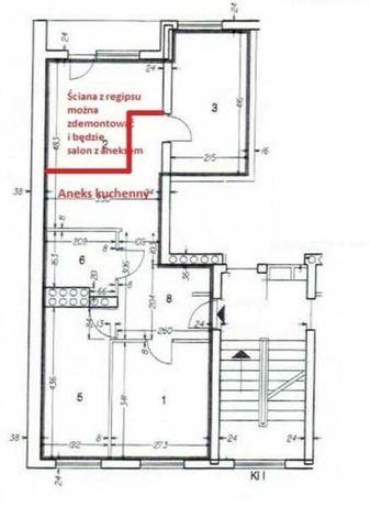 4 pokojowe mieszkanie pod inwestycje na Grzegórzkach/Brak Prowizji