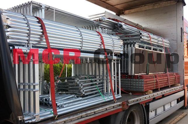 Rusztowanie elewacyjne typ Plettac 108 m2