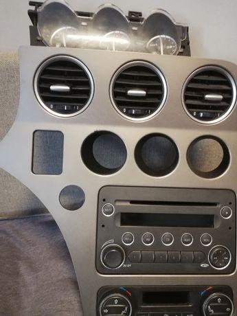 panel kokpitu RADIO ZEGARY Alfa 159