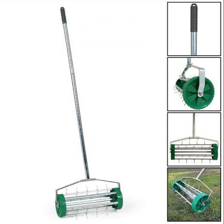 KULTYWATOR RĘCZNY wertykulator aerator do trawy ogrodu ** HIT OKAZJA *