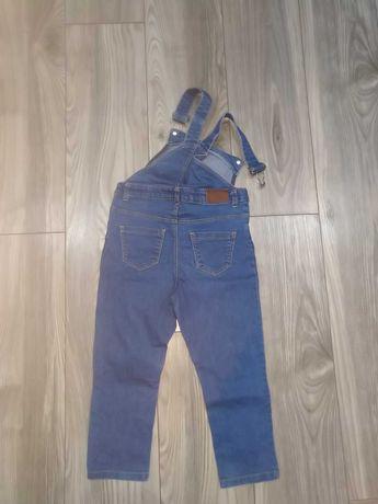 Ogrodniczki jeansowe, roz. 104cm
