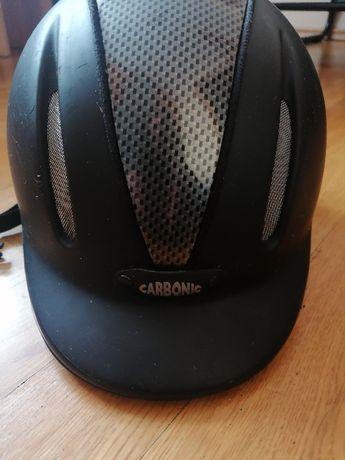 Kask jeździecki carbonic, rozmiar s/m