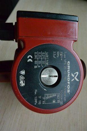Pompka pompa obiegowa C.O. Grundfos 25-60 używana z płynem ergolid