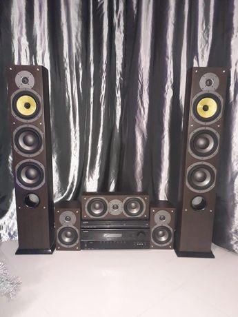 Zestaw kina domowego ONKYO TX-SR307 z głośnikami Maudio