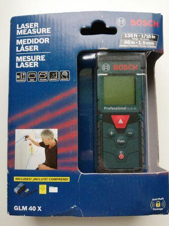 Miarka laserowa Bosch GLM 40X nowa z USA