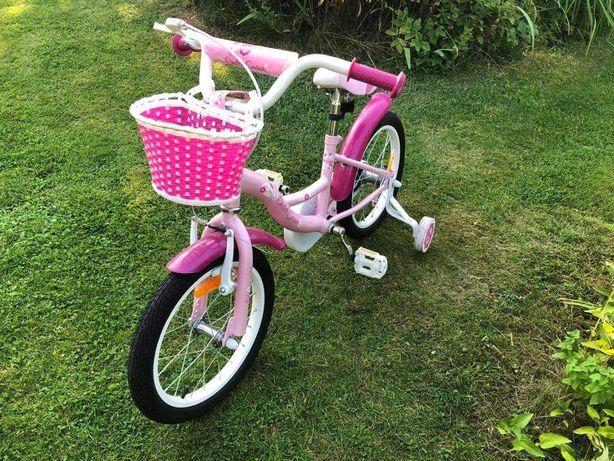 """Rower dziecięcy Dutch Goose Little Sweetie 16"""", jak NOWY"""