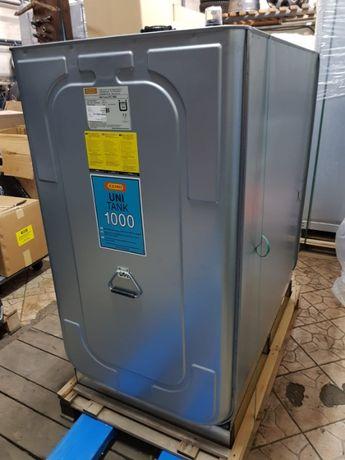 Zbiornik do paliwa dwupłaszczowy z papierami 1000l CEMO