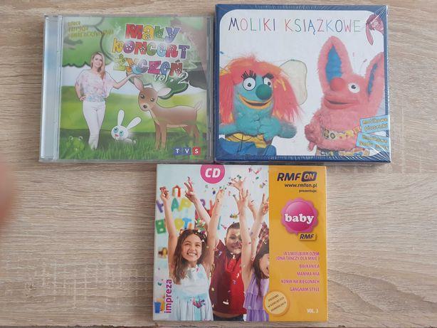 3 cd dla dzieci, idealna muzyka do zabawy