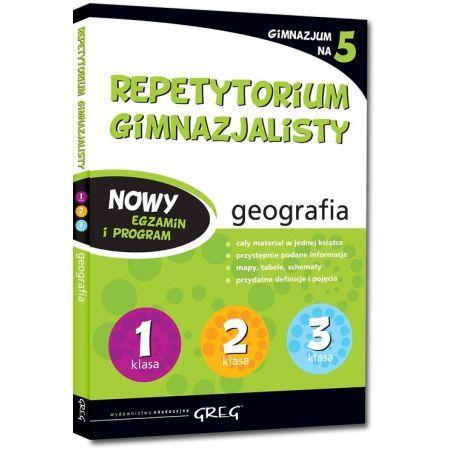 REPETYTORIUM Gimnazjalisty geografia Egzamin Greg