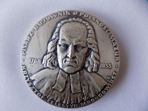 Medal- Krzysztof Celestyn Mrongowiusz