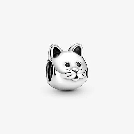 Charms Kot Odkrywca do Pandora Srebro S925