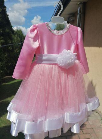 Нарядное платье на девочку 2-3 года