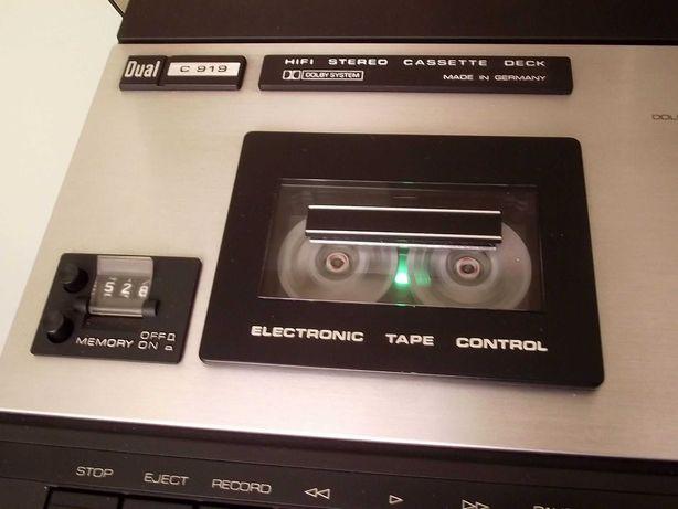 Magnetofon DUAL model CS-919 - Super stan! WYSYŁKA ZA DARMO!