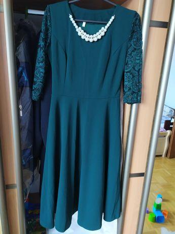 Сукня нова міді нарядна з поясом