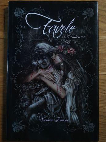 Favole Kamienne łzy Victoria Frances opowieść ilustrowana
