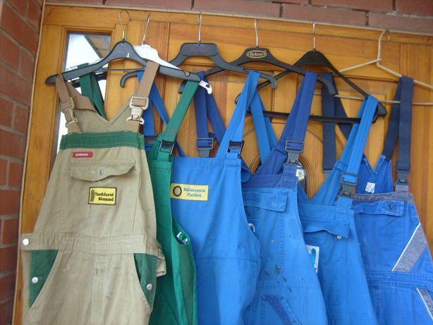 Spodnie ogrodniczki robocze niemieckie używane S , M , L ,