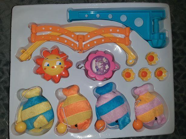 Мобиль карусель на детскую кроватку