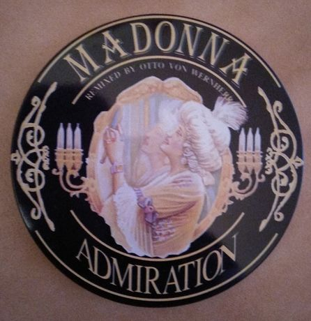 "CD da Madonna ""Admiration"""
