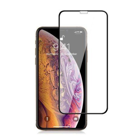 iPhone 11 / XR | Szkło Hartowane 5D Cały Ekran | Klejone po całości