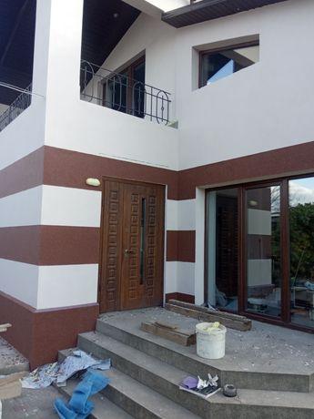 Фасадные  работы и тротуарная плитка