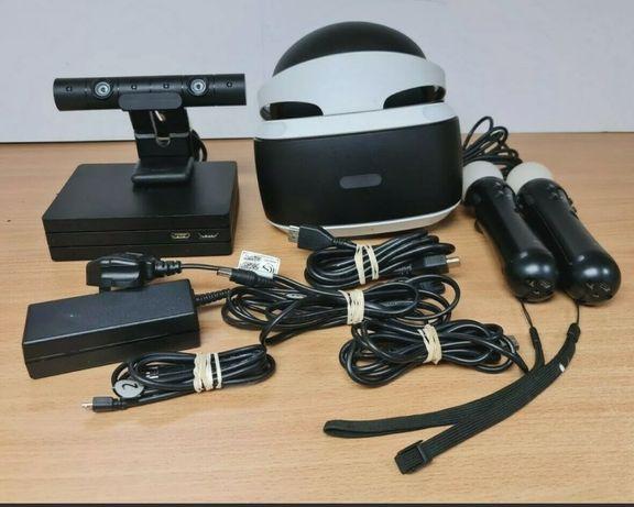Zestaw Okulary SONY VR v2 PS4 PlayStation 4 + Kontrolery Move