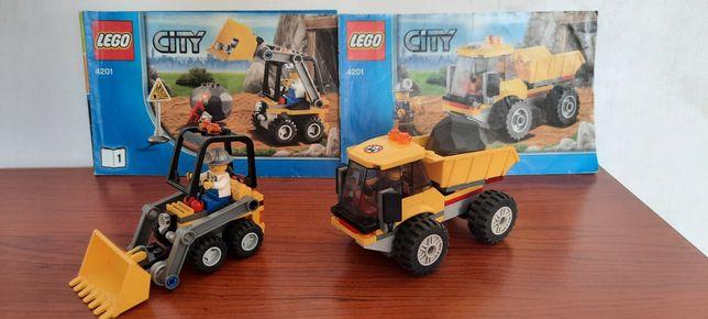 Klocki Lego 4201 Ładowarka i wywrotka