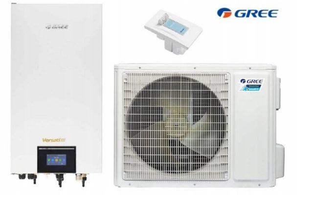 Pompa ciepła GREE VERSATI 8,0 kW SPLIT + WI-FI